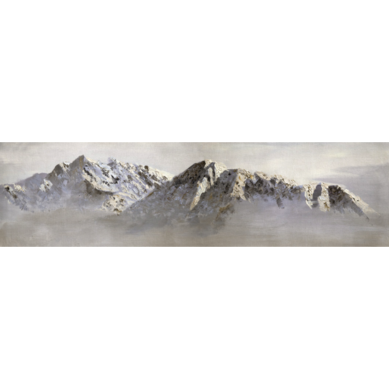 PY010 Toile sur chassis Paysage Panoramique - Taille : (M)-115X25