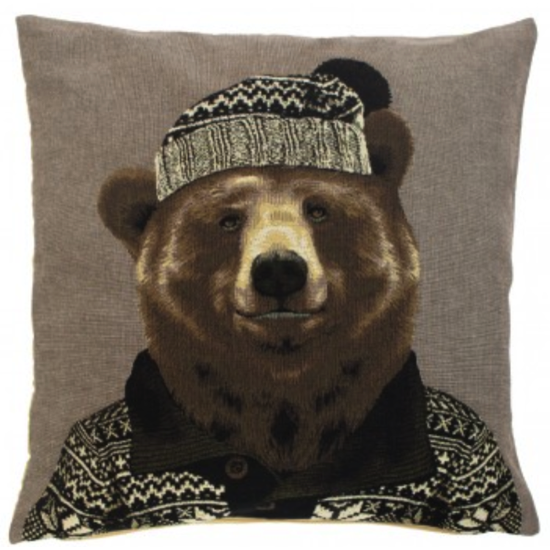 Coussin Nordic Ours