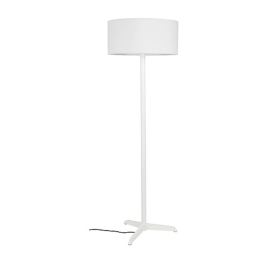 Floor lamp shelby white
