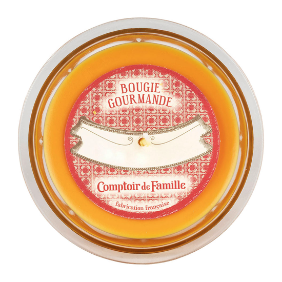 Bougie gourmande Orange vanillée