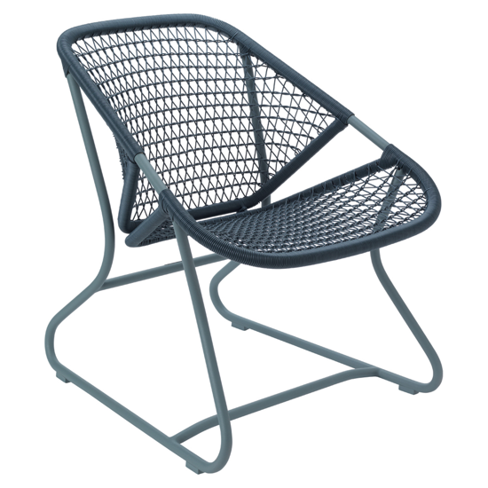 Fauteuil Sixties - Gris Orage