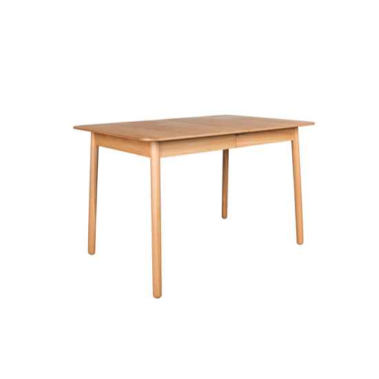 Table Glimps Natural 120/162x80cm