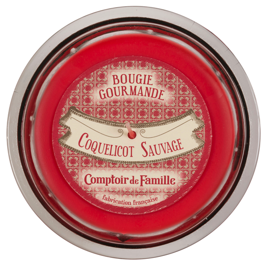 Bougie gourmande Coquelicot sauvage
