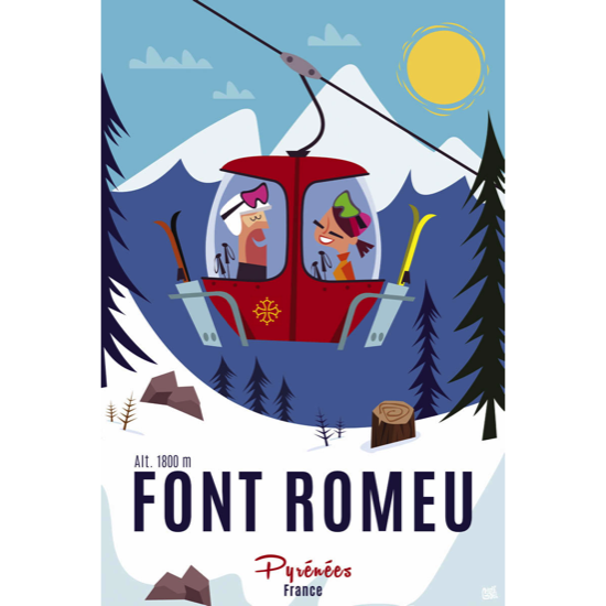 Illustrations GG002 Font Romeu