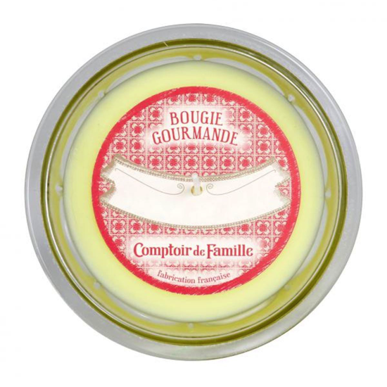 Bougie gourmande Coing rhubarbe