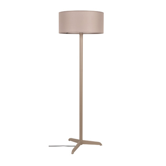 Floor lamp shelby taupe