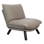 Lounge chair lazy sack light grey - ZUIVER